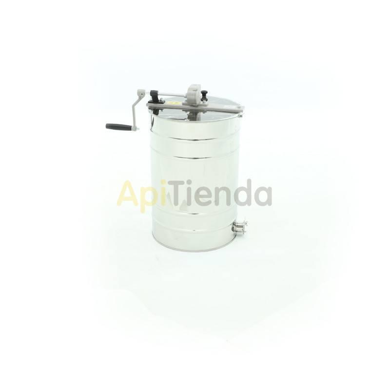 Extractores Extractor 2 cuadros Dadant tangencial manual OPTlMA El extractor más compacto y económico, diseñado para pequeños co