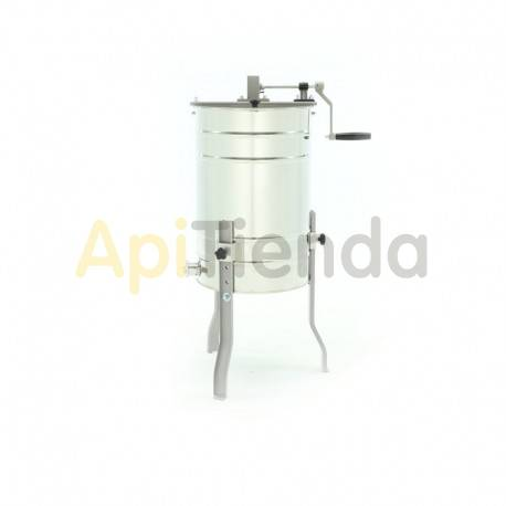 Extractores Extractor 2 cuadros Dadant tangencial manual OPTlMA Extractor tangencial manual. OPTIMA Capacidad: 2 cuadros cuerpo