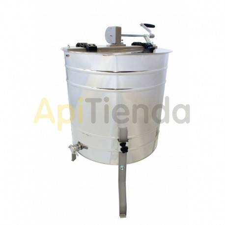 Extractor 4 cuadros Langstroth, tangencial, manual Optima
