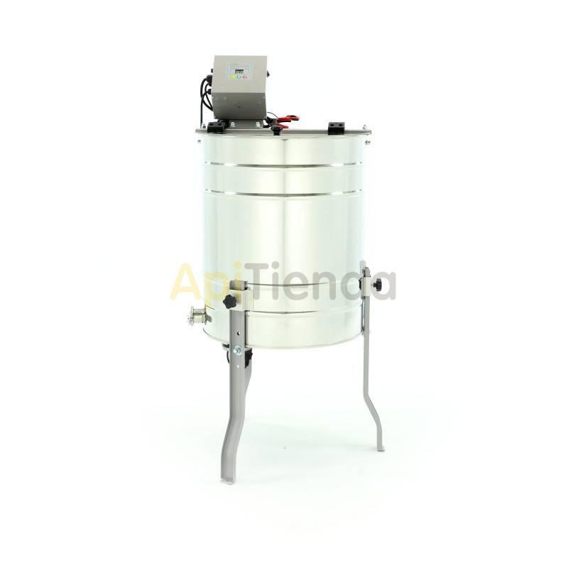 Extractores Extractor 4 cuadros Langstroth. Tangencial. Eléctrico Optima Extractor eléctrico tangencial 4 cuadros Langstroth Fa