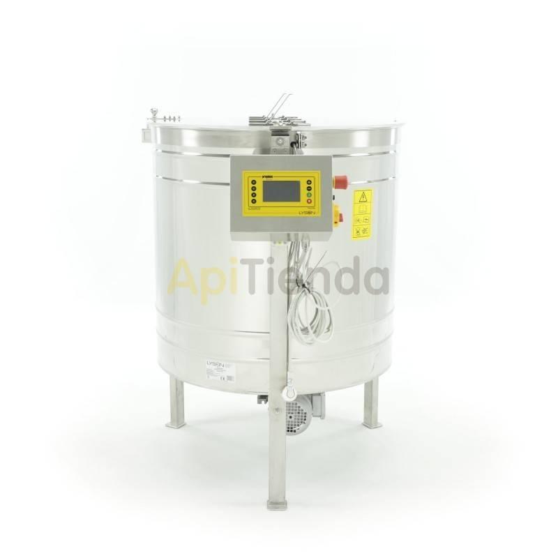 Extractores Extractor 6 c Langstroth , reversible automático Premium Extractor eléctrico reversible automático de 6 cuadros Lang