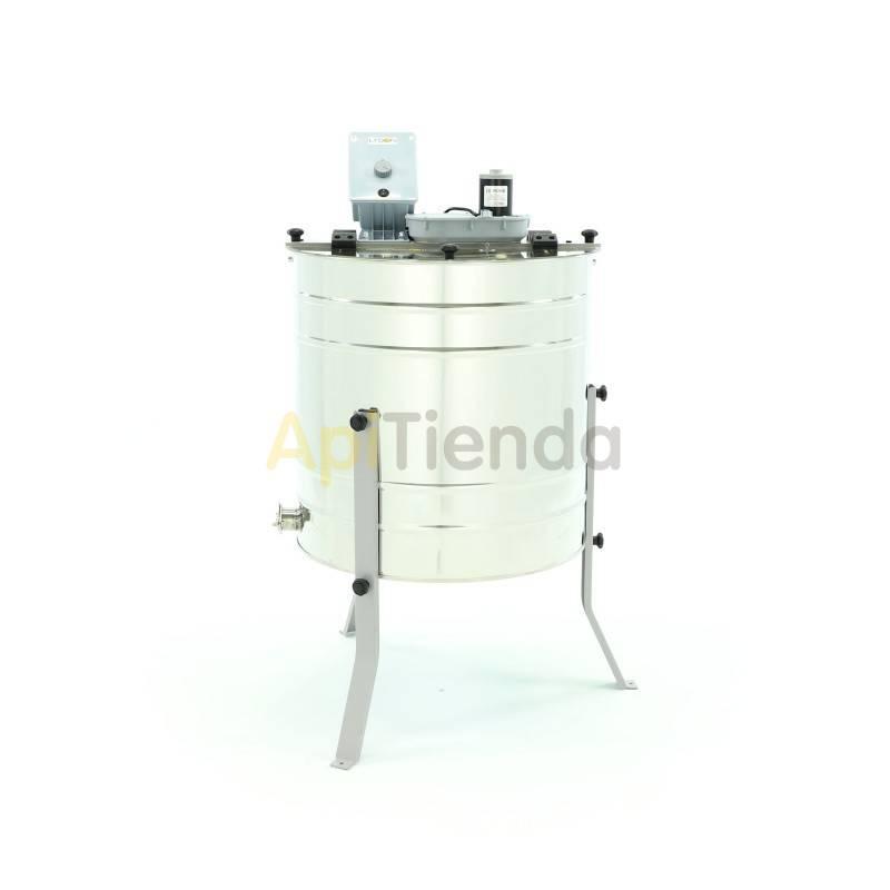Extractores Extractor radial-eléctrico, 20C  1/2 Alza Dadant-MINIMA Extractor radial fabricado en acero inoxidable.  Extractor