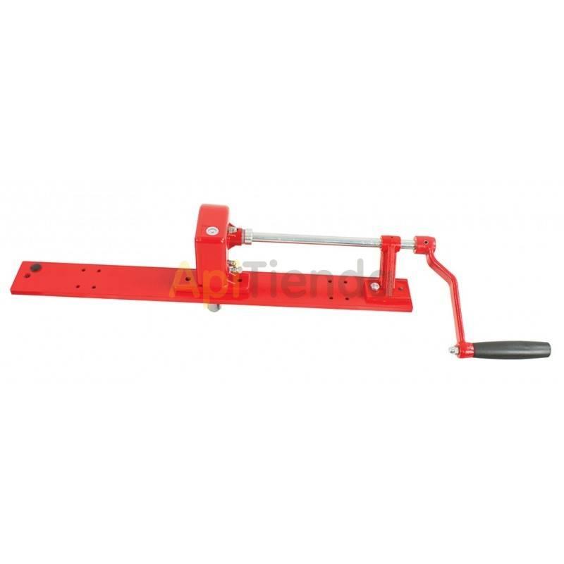 Accesorios del extractor Manivela con freno y barra Manivela del extractor con freno y barra Transmision manual Acero pintado
