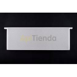 Colmenar Cuadro Plástico Media Alza Tipo de material: Polipropileno alimentario Medidas cuadro: 480x160x25 mm. Medidas celdill