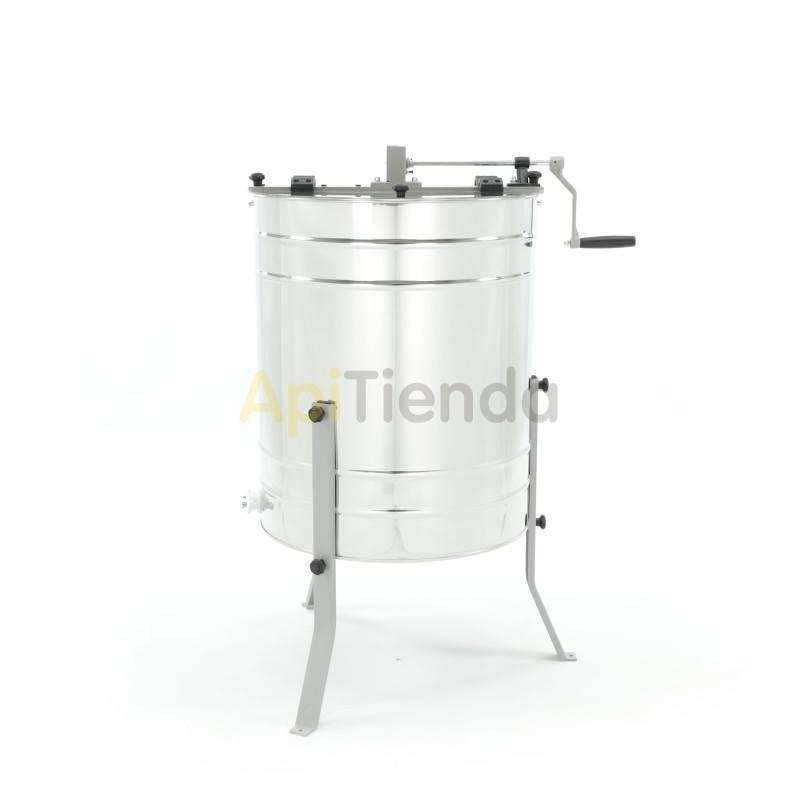 Extractores Extractor 4 cuadros Dadant, reversible manual. Nuevo extractor de la serie Mínima es adecuado para el trabajo en cam