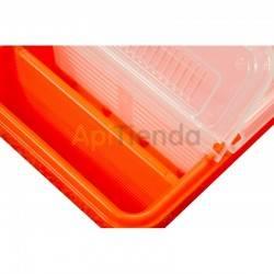 Alimentador plástico 0,8 l