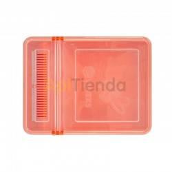 Alimentacion Alimentador Combo 1,5L Alimentador de plástico para colmenas o nuceos Capacidad - 1,5L Dimensiones: longitud 26,