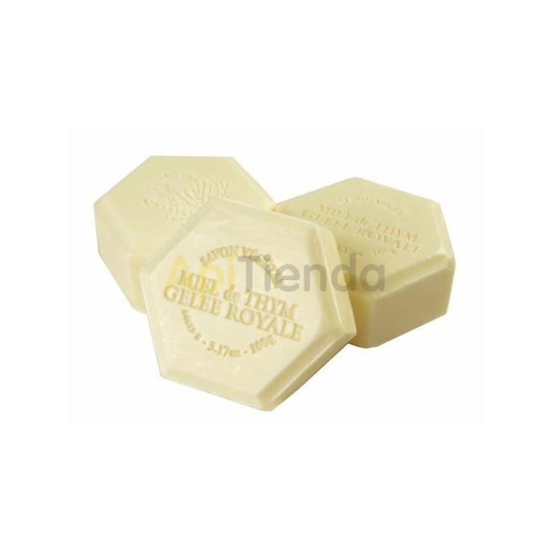 Belleza Jabon de Manos con Jalea Real 100g Jabón con miel y jalea real. Entre sus ingredientes 100% vegetales se encuentra la m