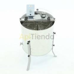 Extractor 4 cuadros UNIVERSAL tangencial, eléctrico MINIMA|Grifo acero inox