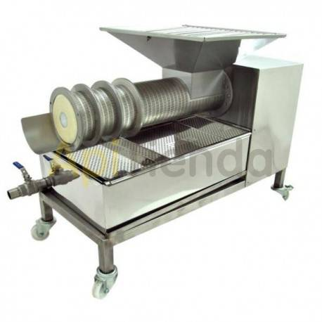 Press for opercules 100kg, Made of stainless steel. high-qualityIt is designed to separate honey from operculumsWork with an end