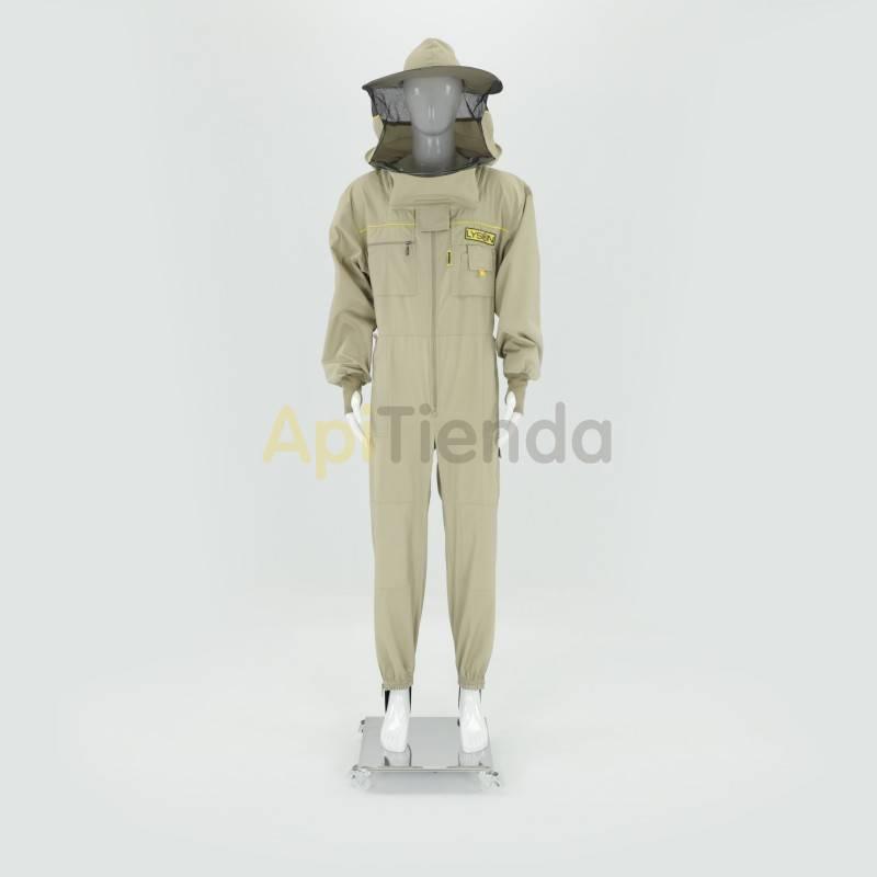Ofertas Buzo apicultor careta redonda Premium Color gris claro o blanco (depende del lote) Careta redonda desmontable, gorro co