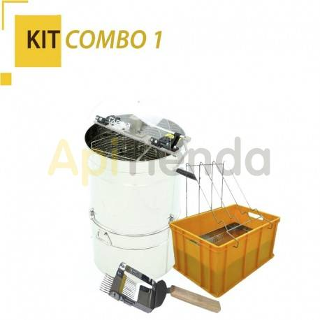 COMBO Kit 1, -Extractor 3 Universal tangential frames with Maturer and Filter Ref. W2029_OM-Deopercular comb with inverted puas