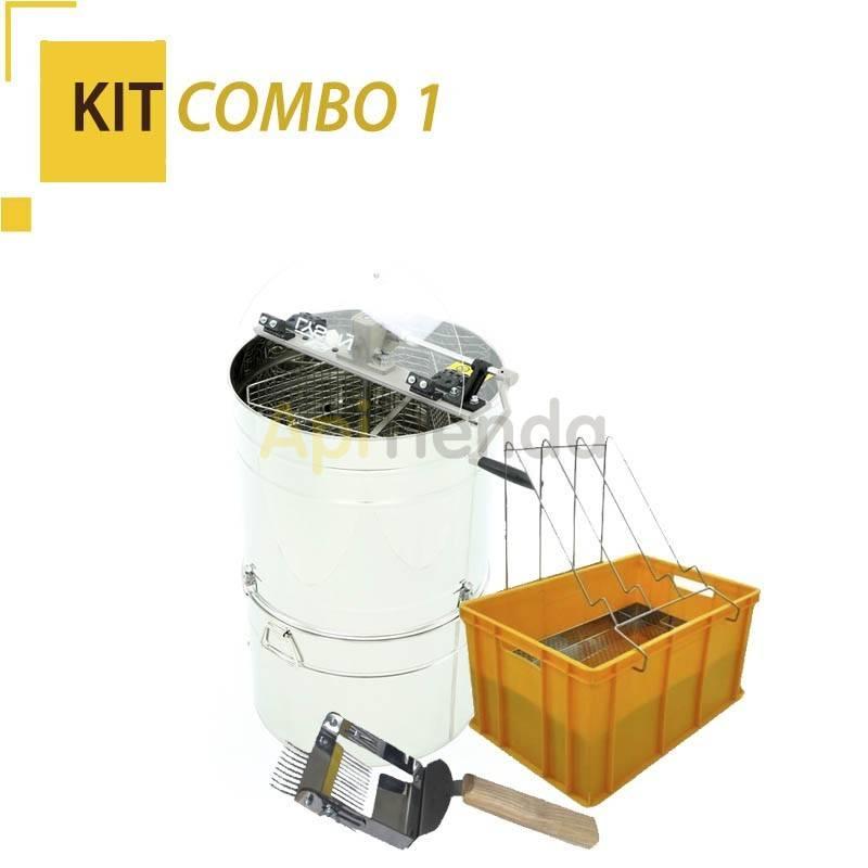 Extractores Kit COMBO 1 -Extractor 3 cuadros tangencial Universal con Madurador y Filtro Ref. W2029_OM -Peine de desopercular c