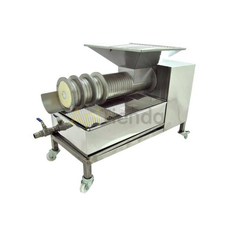 Press for opercules 50kg, Press for 50 kg operculos. It works with an endless screw and a perforated cylinder powered by a power