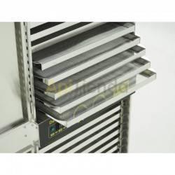 Maquinaria Secadero de Polen 32 Bandejas de acero inoxidable (220L) Secador de polen - 32 cajones (capacidad: 220 l)  DATOS TÉ
