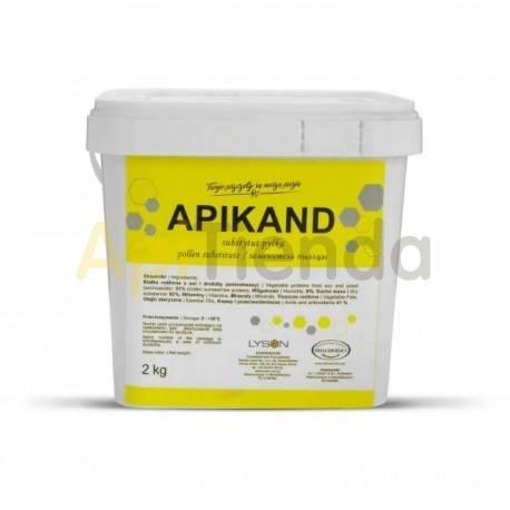 Alimentacion Alimento APIKAND sustituto de polen 2KG APIKAND - SUSTITUTO DE POLEN Producto creado como sustituto natural del po