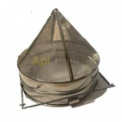 Conical filter 25cm stainless steel