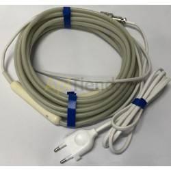 Resistencias y cámaras calientes Resistencia silicona adaptable 220V Nueva resistencia permite la aplicación de una fuente de ca