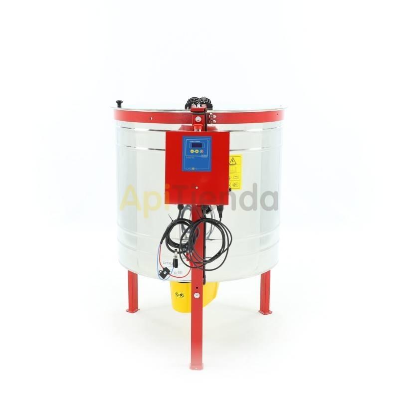 Extractores Extractor 4 cuadros Dadant reversible Ø800 220V 12V Optima Extractor 4 cuadros Dadant reversible automático Fabrica
