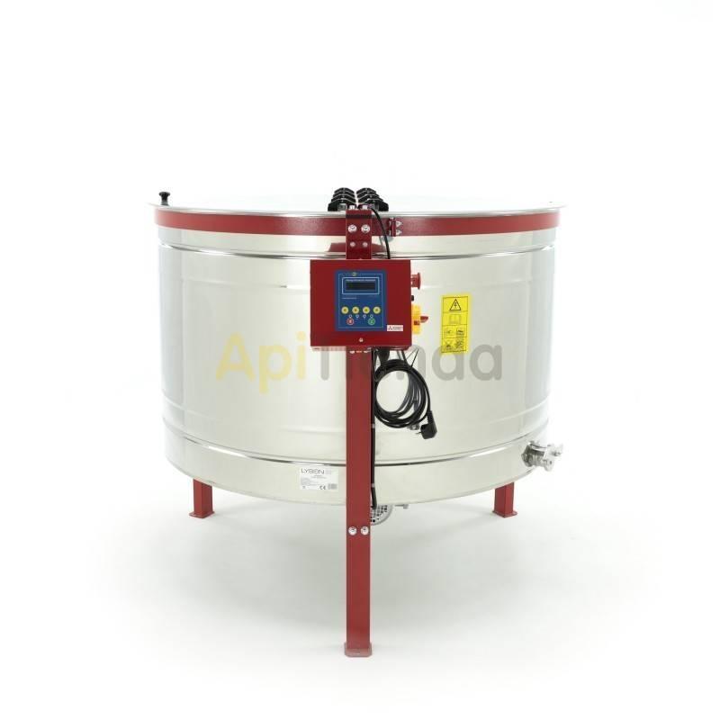 Extractores Extractor  8 c Langstroth reversible automático P1 y P8 8 cuadros de Langstroth. Garantía 5 años. Disponible con el