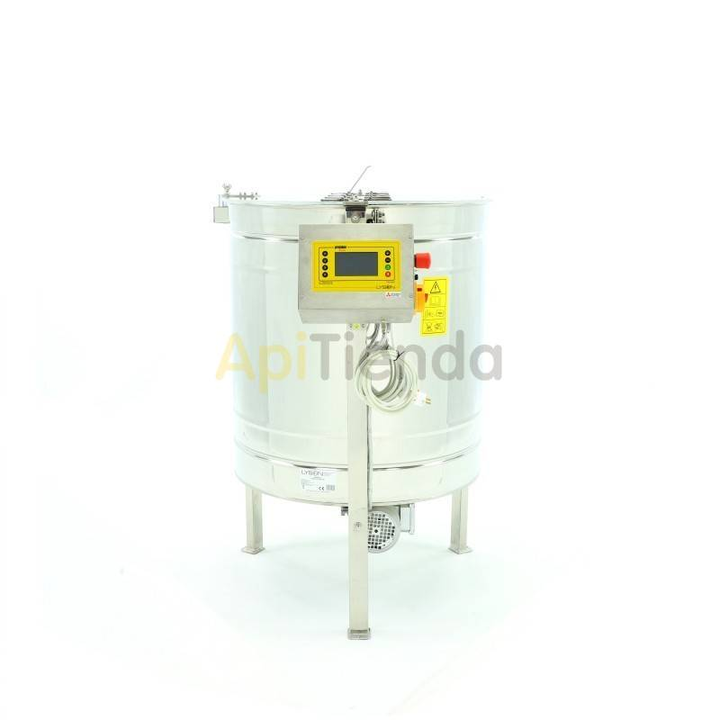 Extractores Extractor 6 cuadros Dadant reversible automático Premium Extractor 6 cuadros Dadant reversible automático Fabricado