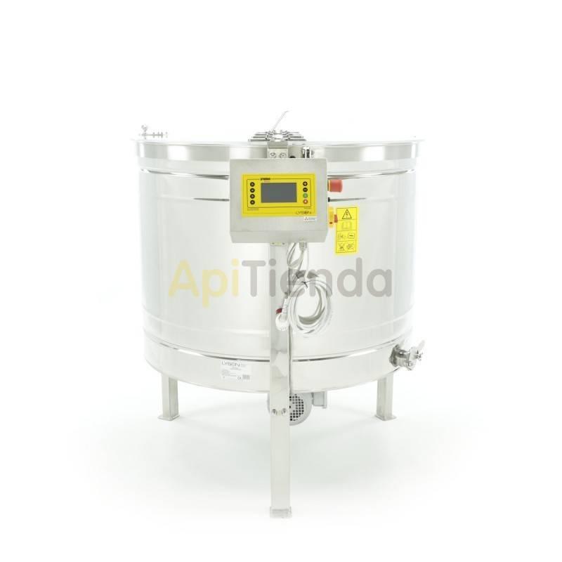 Extractores Extractor 16 cuadros Dadant reversible Premium Extractor 16 cuadros Dadant o 32 Alzas de Dadant, reversible automáti