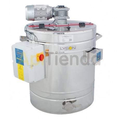 Mezcladores de miel Mezclador-homogenizador de miel calefactado 200L  Mezclador-homogenizador de miel con termostato automático