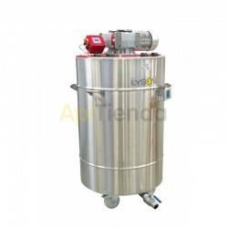 Mezcladores de miel Mezclador-homogenizador de miel calefactado 600L, 380V Mezclador-homogenizador de miel con termostato automá