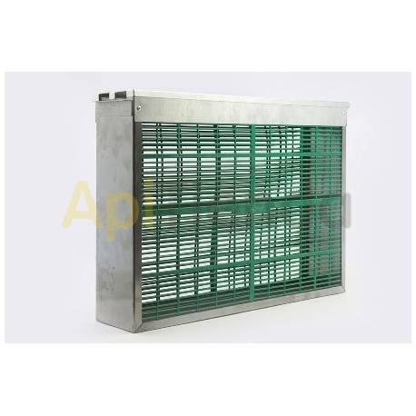Excluidores / Escapes Caja excluidor de reina 2 cuadros Langstroth Caja excluidora para 2 cuadros de metal para cámara de cría.