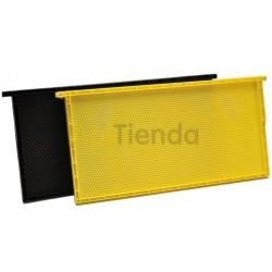 Colmenar Cuadro de plástico Langstroth Dimensiones: 48,20 x 23.10 x 03.50 cm Peso: 360.00 g
