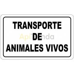 Live Animal Transport Poster - Magnet, Magnetized posterIdeal for vehicles. It is very comfortable for transporting cattle, hors