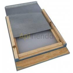 Colmenas de madera Fondo sanitario, colmena Langstroth/ Dadant, Pintura en arena Fondo sanitario para colmenas Langstroth o Dada