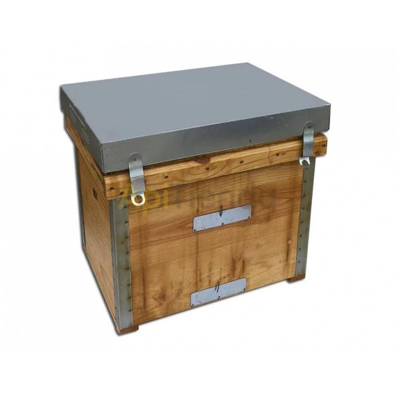 Colmenas de madera Colmena Layens Dominguez 12 cuadros abiertos Colmenas Layens de alta calidad del fabricante Industrias Doming