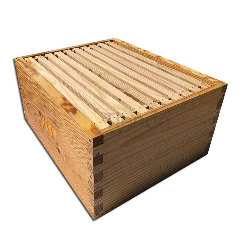 Colmenas de madera Alza Langstroth Fija Dominguez Alza Langstroth Fija Dominguez Fabricante Dominguez Lleva 10 cuadros alambra