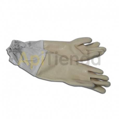 Vestuario Guantes latex blancos Guantes de látex de alta calidad, color blanco