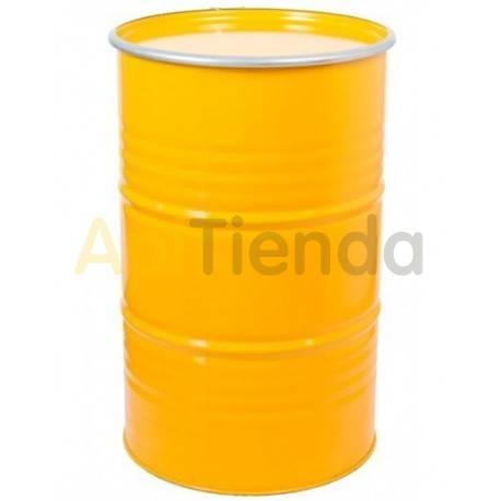 Maquinaria Bidón para miel, amarillo, 300kg Bidon para almacenaje de miel con capacidad de 230 litros (aprox 300kg de miel) Fa