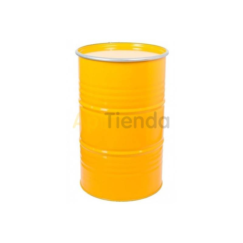 Honey drum, yellow, 300kg, Bidon for honey storage with capacity of 230 liters (approx. 300kg honey) Made of metal Special treat