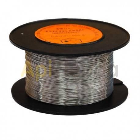 Colmenar Alambre acero inox. 0.4mm 500g  Alambre acero inox. alimentario 0.4mm 500g