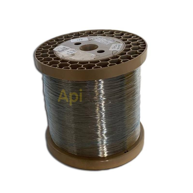 Colmenar Alambre acero inox. 0.5 mm Rollo de alambre inoxidable especial para uso en apicultura. Es ideal para poner en los cuad