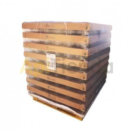 Botes Botes de  cristal celdilla 1/2 kg,  PALÉ 2097 uds Envase de cristal con celdilla.  Capacidad: 385 ml/ 0,5kg de miel Pes