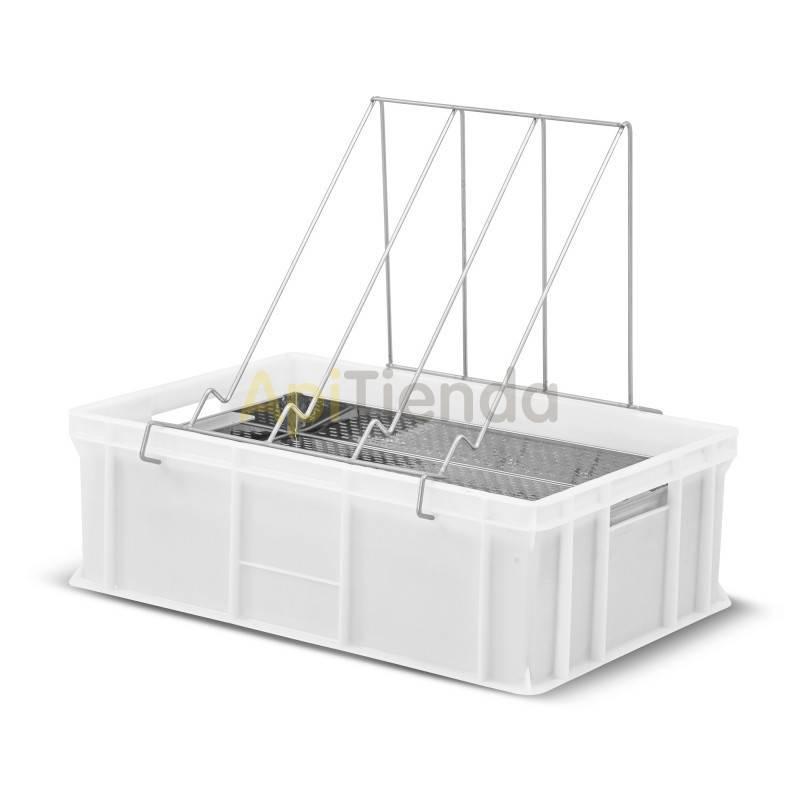 Cubetas Cubeta desopercular plástico 200mm FA Ventajas : - Fabricado en plástico homologado para el contacto con alimentos. -