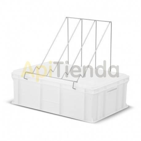 Cubetas Cubeta desopercular plástico 200mm FP Ventajas : - Fabricado en plástico homologado para el contacto con alimentos. -