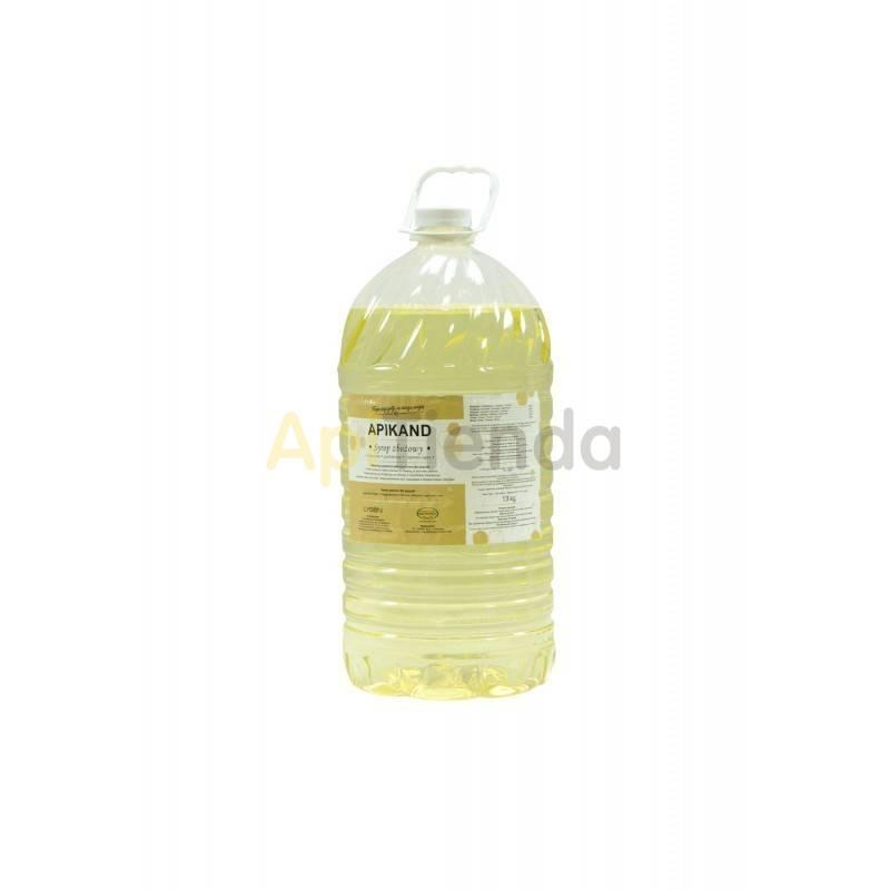 Alimentacion Alimento APIKAND Palet 702 kg (54 garafas) Apikand - alimento / jarabe completo para abejasIngredientes:Frutosa - 4