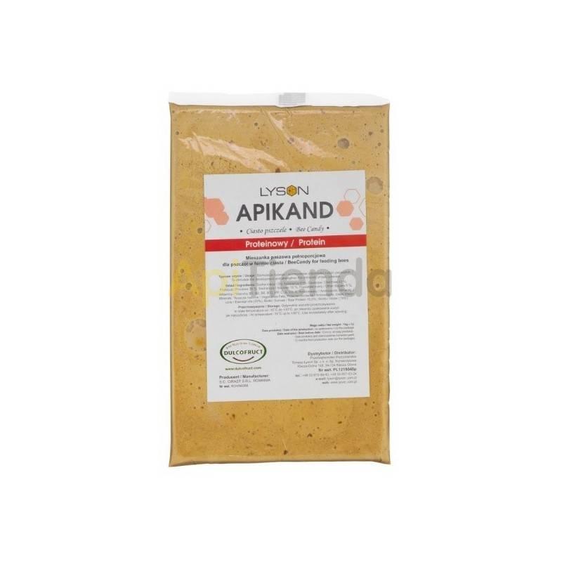 Alimentacion Alimento Apikand - proteico bee candy, Palet (780 kg) Es un producto premium, creado para la rápida regeneración de