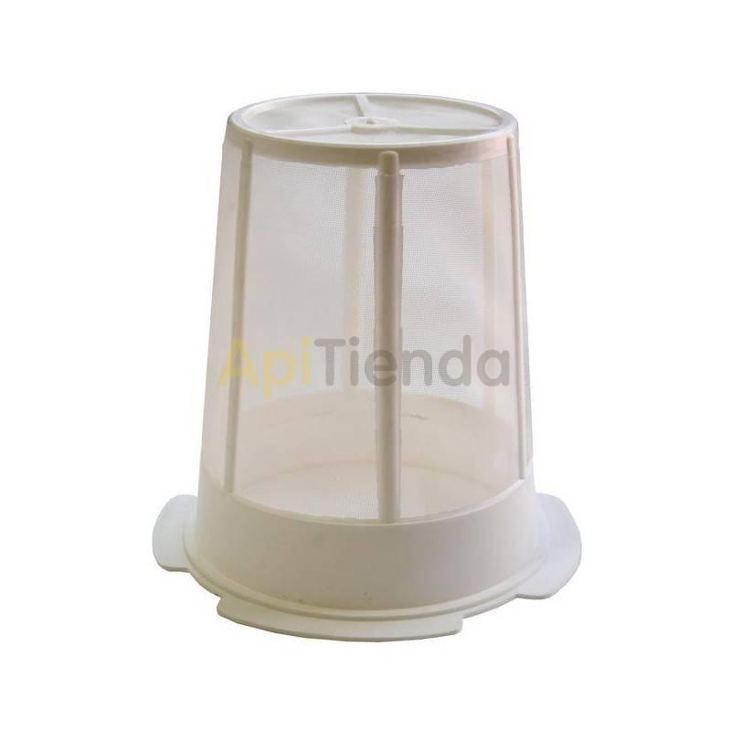 Filtros para miel Filtro nylon Ø20cm Filtro nylon para miel Ø20cm. Altura 29cm Posibilidad soporte de acero inox.