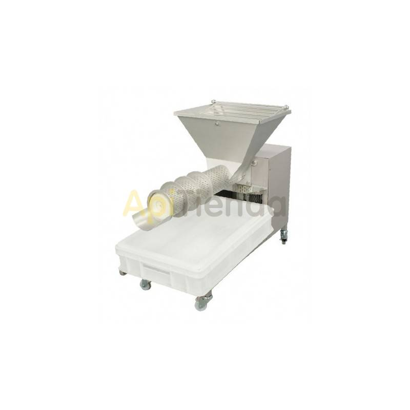 Prensas para opérculos Prensa para operculos  50kg OPTIMA  Fabricado en acero inox. de alta calidad Está diseñado para separar