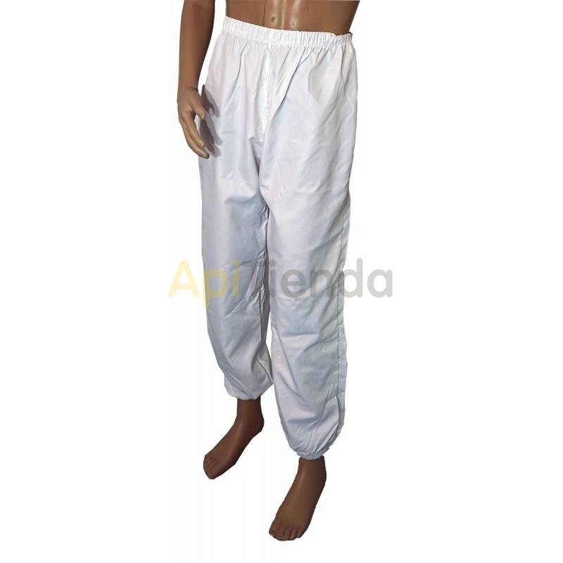 Vestuario Pantalon apicultor doble nylon  Pantalón apicultura doble tela de poliamida ( Nylon) Gomas en cintura y tobillos par