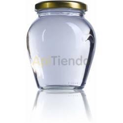 Envases Bote de cristal orcio 720 ml Envase de cristal Orcio 720 ml Capacidad: 720 ml Ancho de boca Ø82mm Color: vidrio-blanc