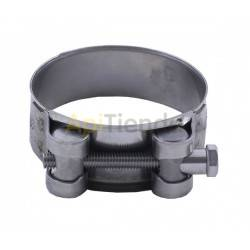 Hoseclamp 40-60mm 2 stainless