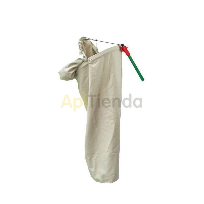 Otro material apícola Caza enjambres de tela Saco de tela cazaenjambres. Se le puede adherir un palo y así poder atrapar los enj